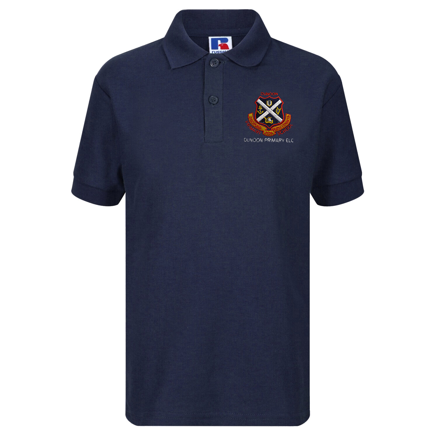 Dunoon Primary ELC Nursery Staff Polo (Female-Fit) (RCS539F)