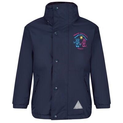 Gibshill Childrens Centre Staff Heavy Rain Jacket (Fleece lined)