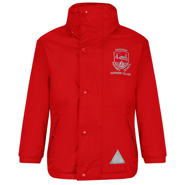 Inverkip Nursery Staff Heavy Rain Jacket (Fleece lined)