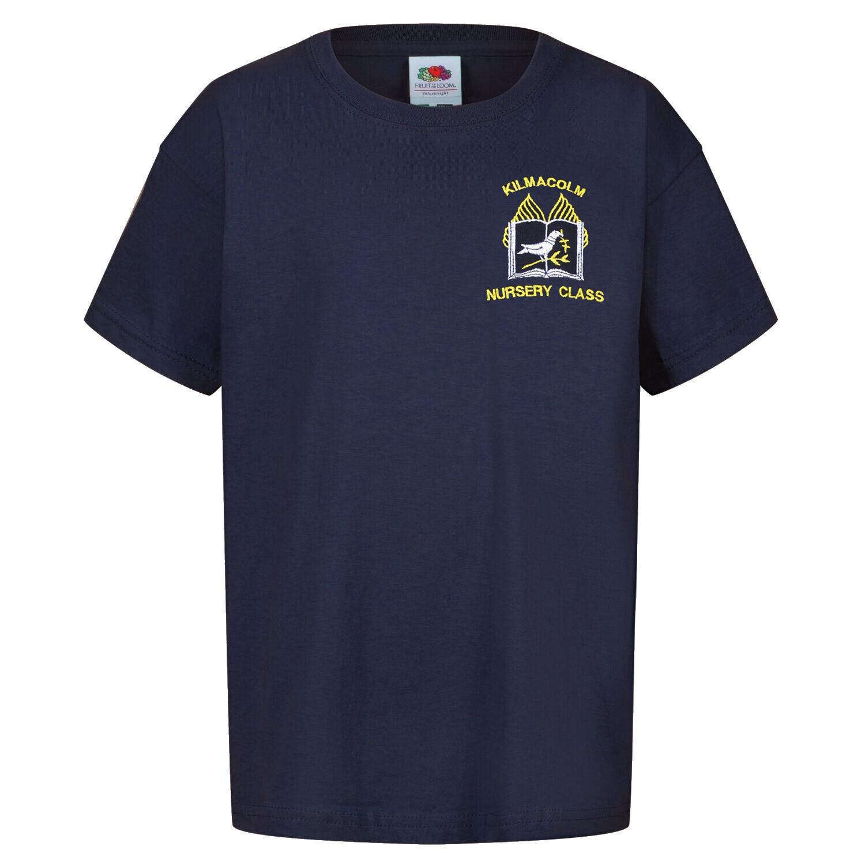 Kilmacolm Primary Nursery Staff T-Shirt (Unisex) (RCS5000)