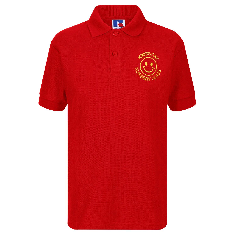 King's Oak Nursery Staff Polo (Unisex) (RCS539M)