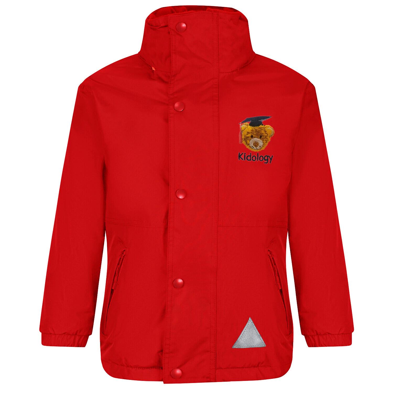 Kidology Nursery Staff Heavy Rain Jacket (Fleece lined)