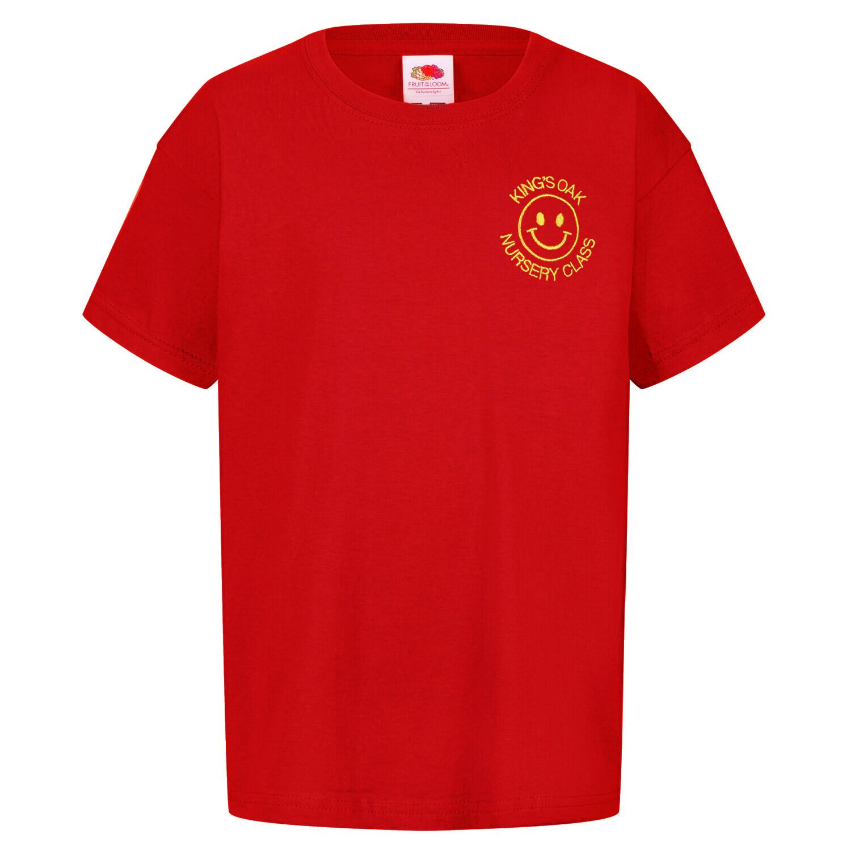 King's Oak Nursery Staff T-Shirt (Unisex) (RCS5000)