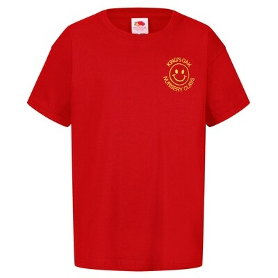 King's Oak Nursery Staff T-Shirt (Unisex) (RCS5000)