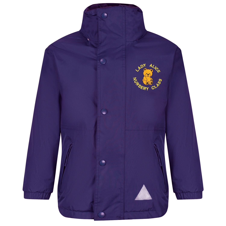 Lady Alice Nursery Staff Heavy Rain Jacket (Fleece lined)