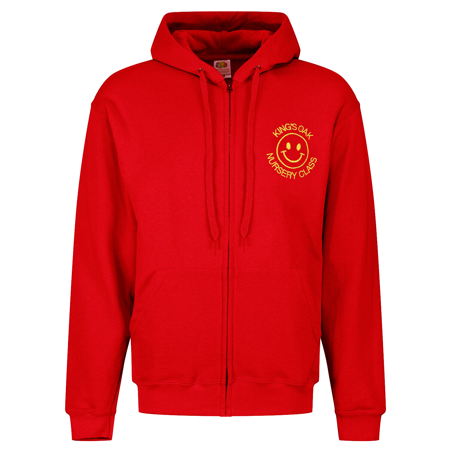 King's Oak Nursery Staff ZIPPER Hoody (Unisex) (RCSGD58)