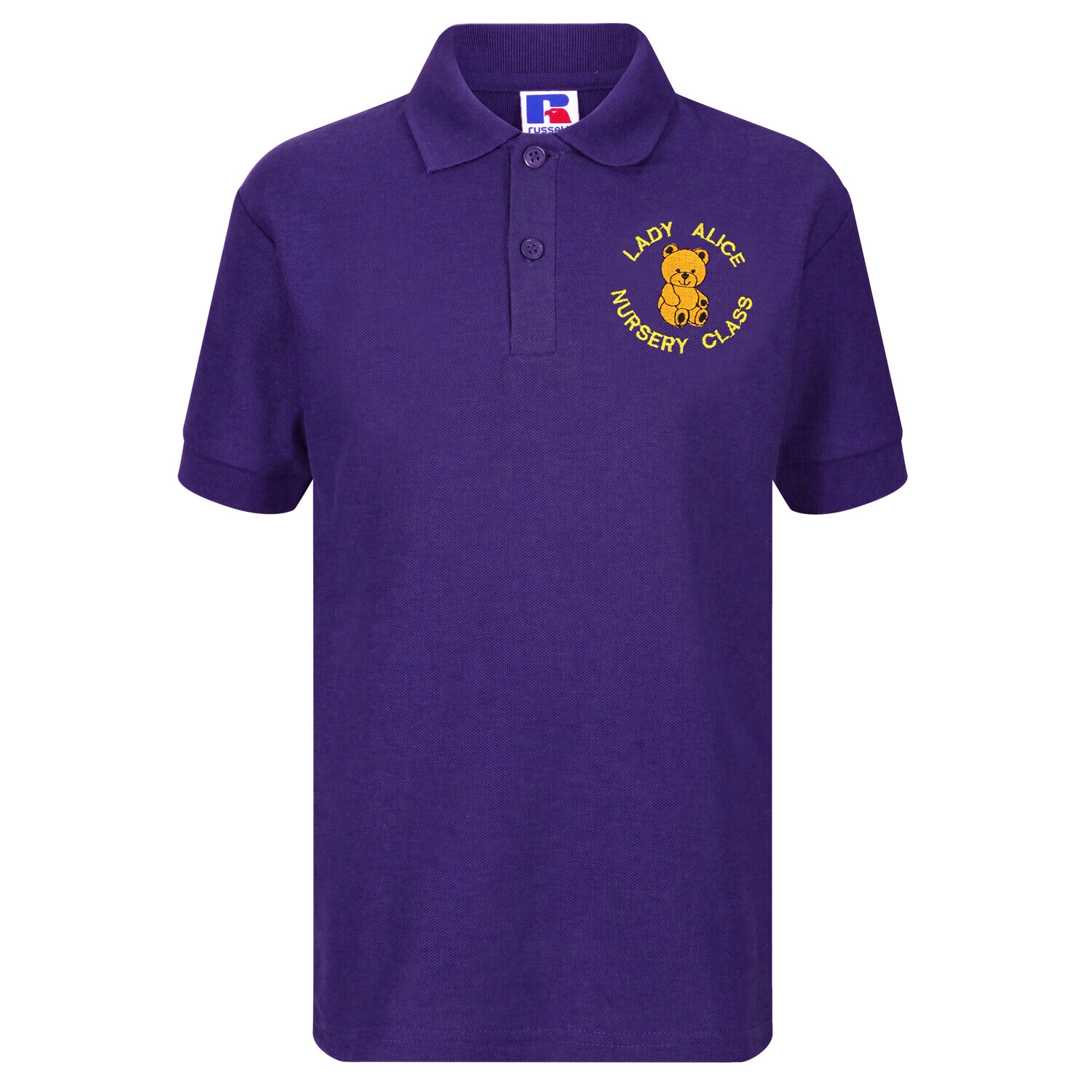 Lady Alice Nursery Staff Polo (Unisex) (RCS539M)