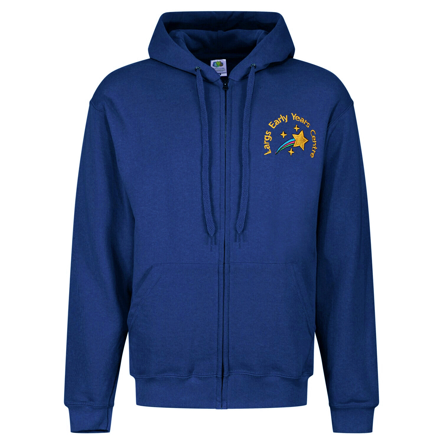 Largs Early Years Nursery Staff ZIPPER Hoody (Unisex) (RCSGD58)