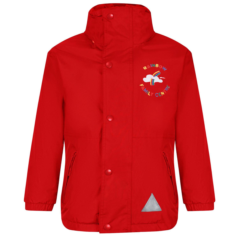 Rainbow Nursery Staff Heavy Rain Jacket (Fleece lined)