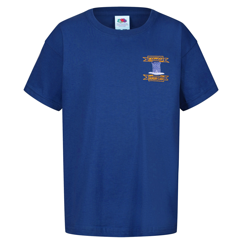 Moorfoot Nursery Staff T-Shirt (Unisex) (RCS5000)