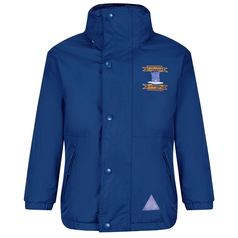 Moorfoot Nursery Staff Heavy Rain Jacket (Fleece lined)