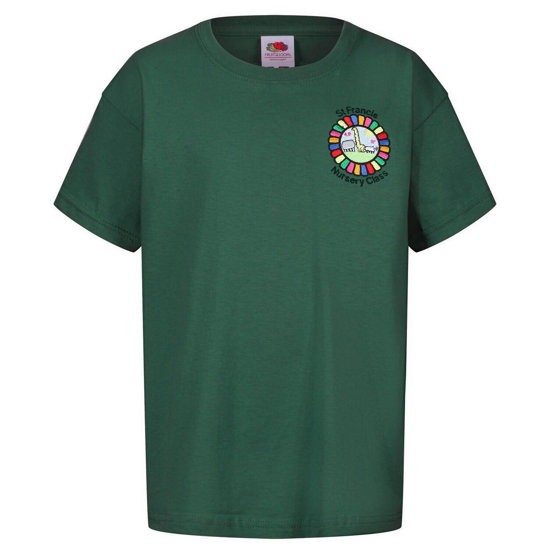 St Francis Nursery Staff T-Shirt (Unisex) (RCS5000)