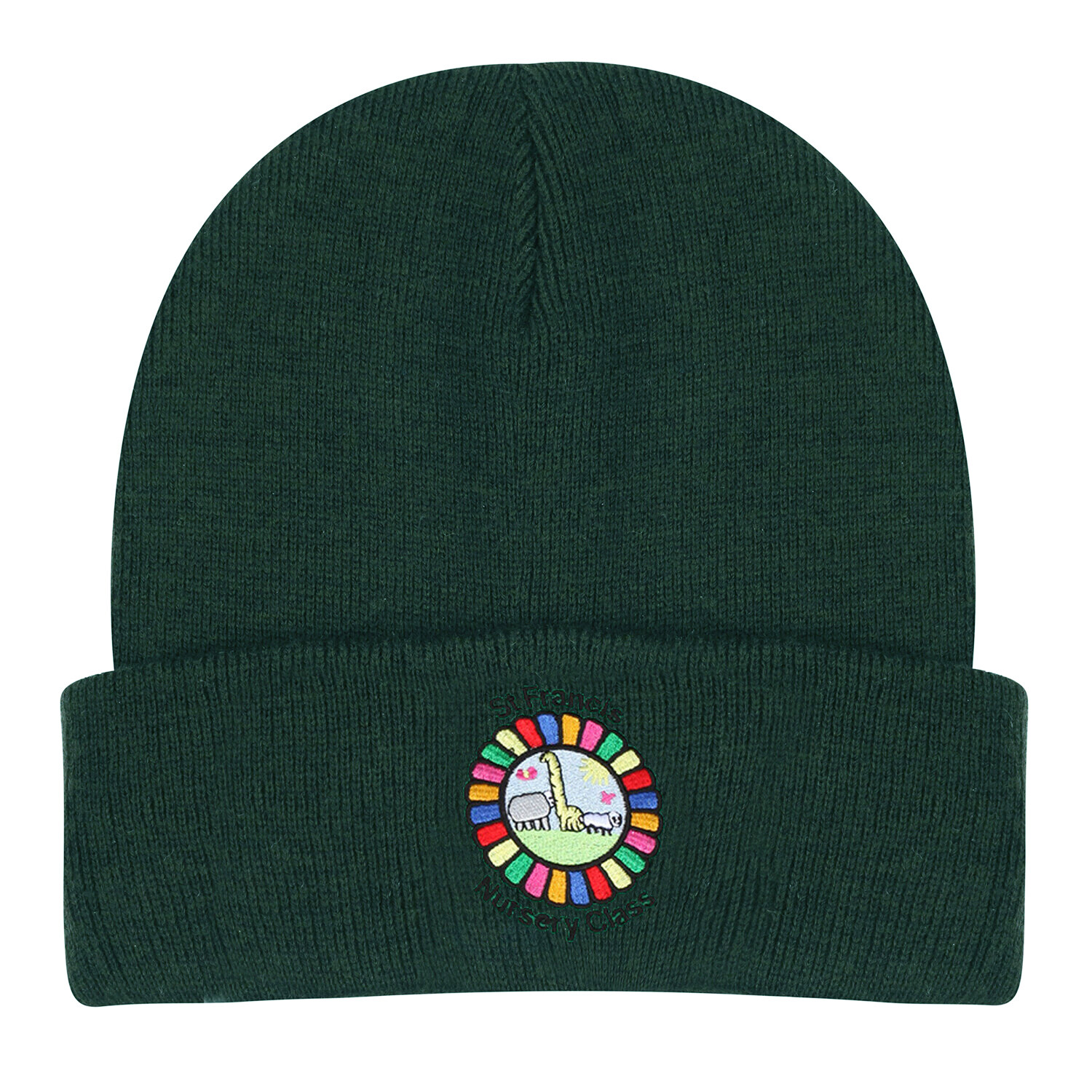 St Francis Nursery Wooly Hat