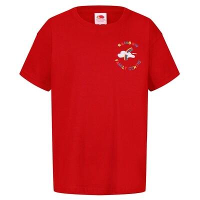 Rainbow Nursery Staff T-Shirt (Unisex) (RCS5000)