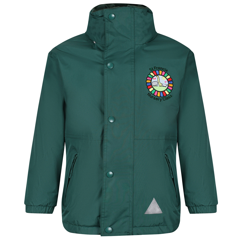 St Francis Nursery Staff Heavy Rain Jacket (Fleece lined)