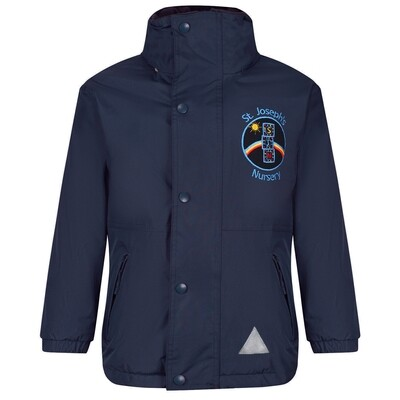 St Joseph's Nursery Staff Heavy Rain Jacket (Fleece lined)