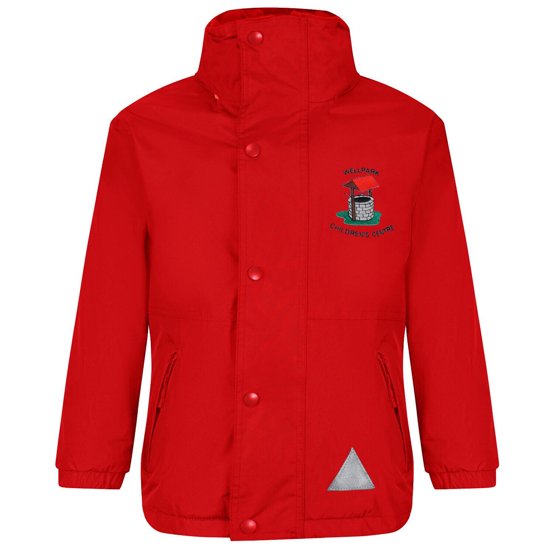 Wellpark Childrens Centre Staff Heavy Rain Jacket (Fleece lined)