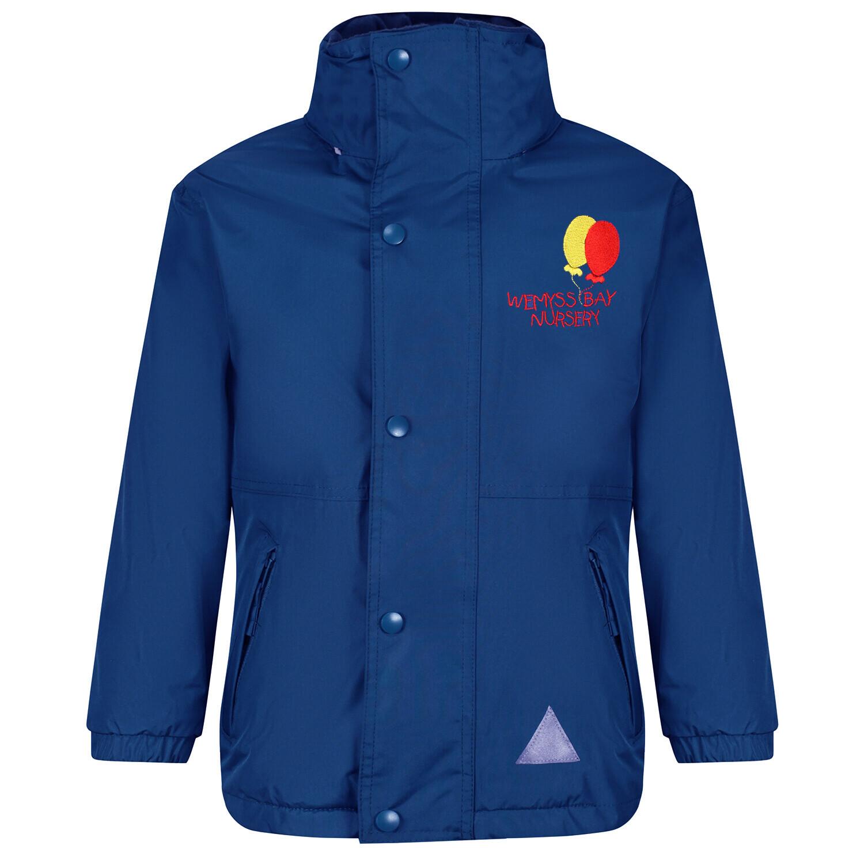 Wemyss Bay Nursery Staff Heavy Rain Jacket (Fleece lined)