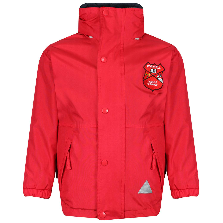 Whinhill Nursery Staff Heavy Rain Jacket (Fleece lined)
