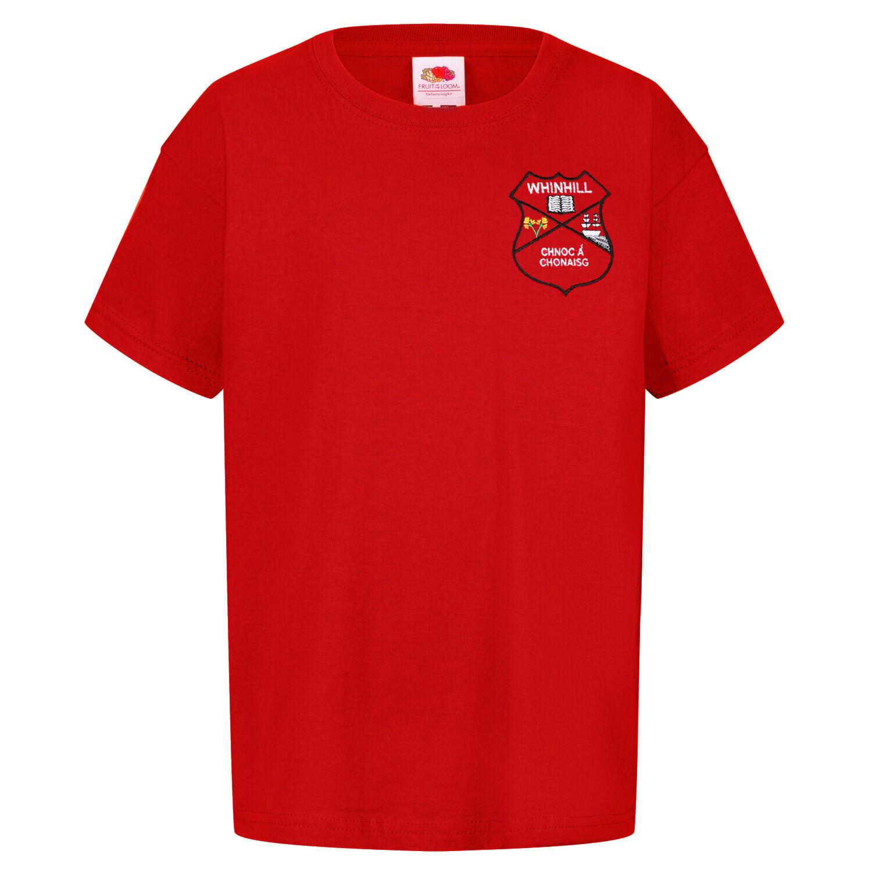 Whinhill Nursery Staff T-Shirt (Unisex) (RCS5000)