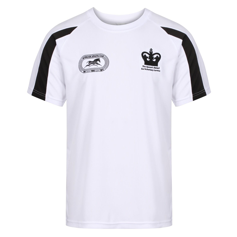 Inverclyde Athletics (IAC) Short Sleeve T-Shirt (White) (RCSJC003)