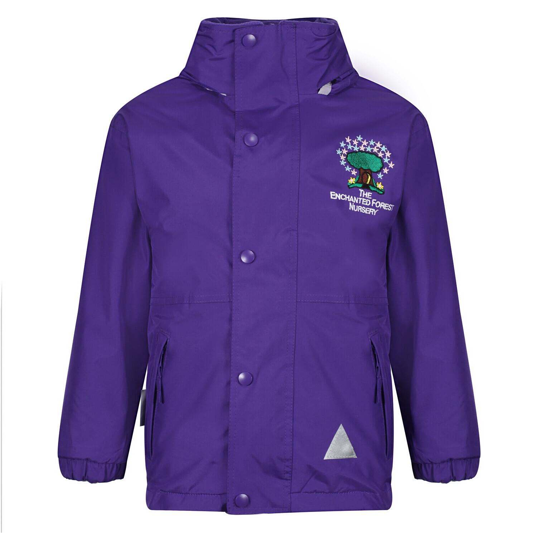 Enchanted Forrest Nursery Heavy Rain Jacket (Fleece lined)