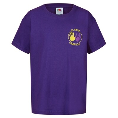 St John's Nursery Staff T-Shirt (Unisex) (RCS5000)