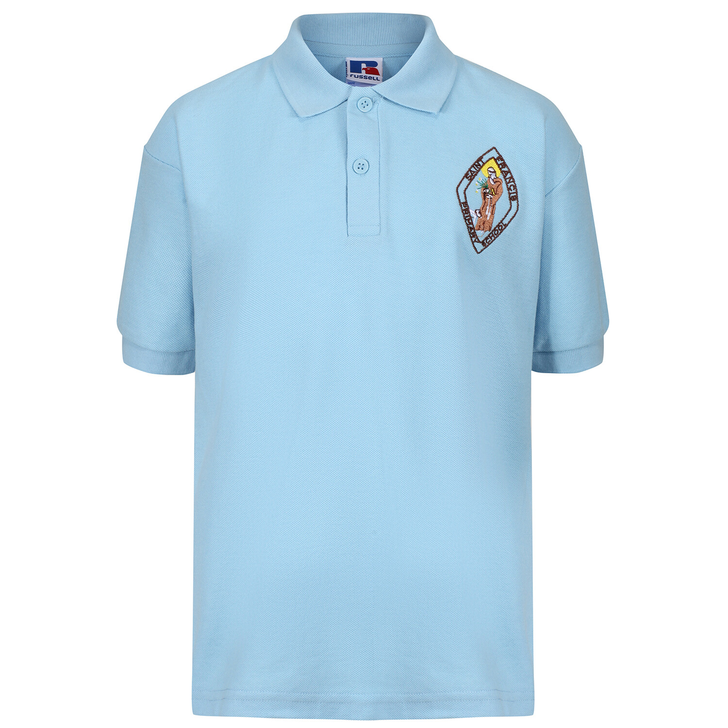 St Francis Primary Staff Polo (Unisex) (RCS539M)