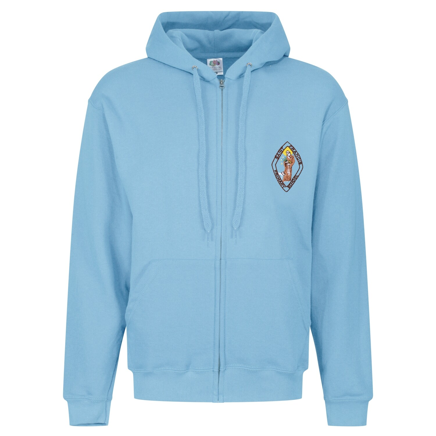 St Francis Primary Staff ZIPPER Hoody (Unisex) (RCSGD58)