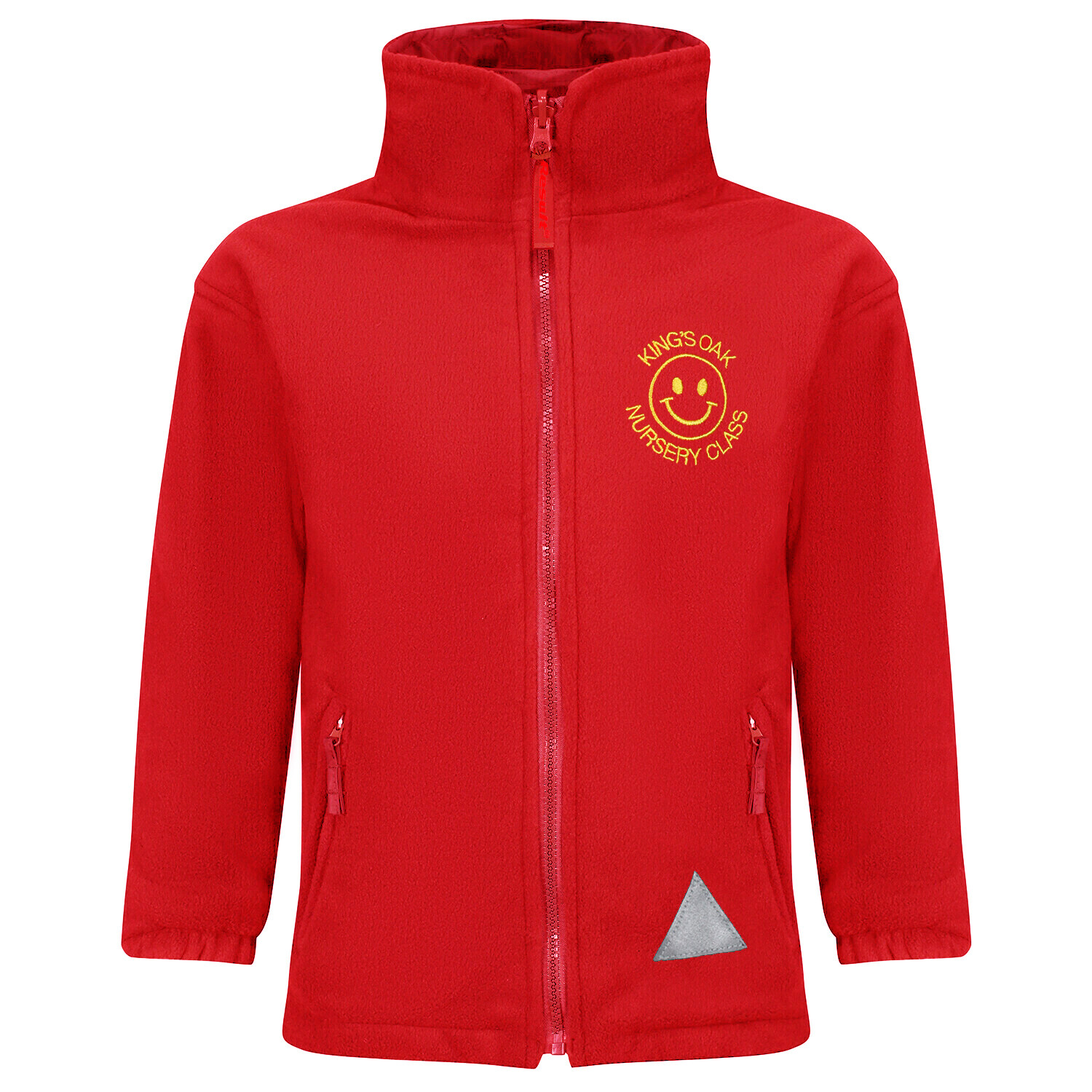 King's Oak Nursery Fleece (RCSRS36Red)