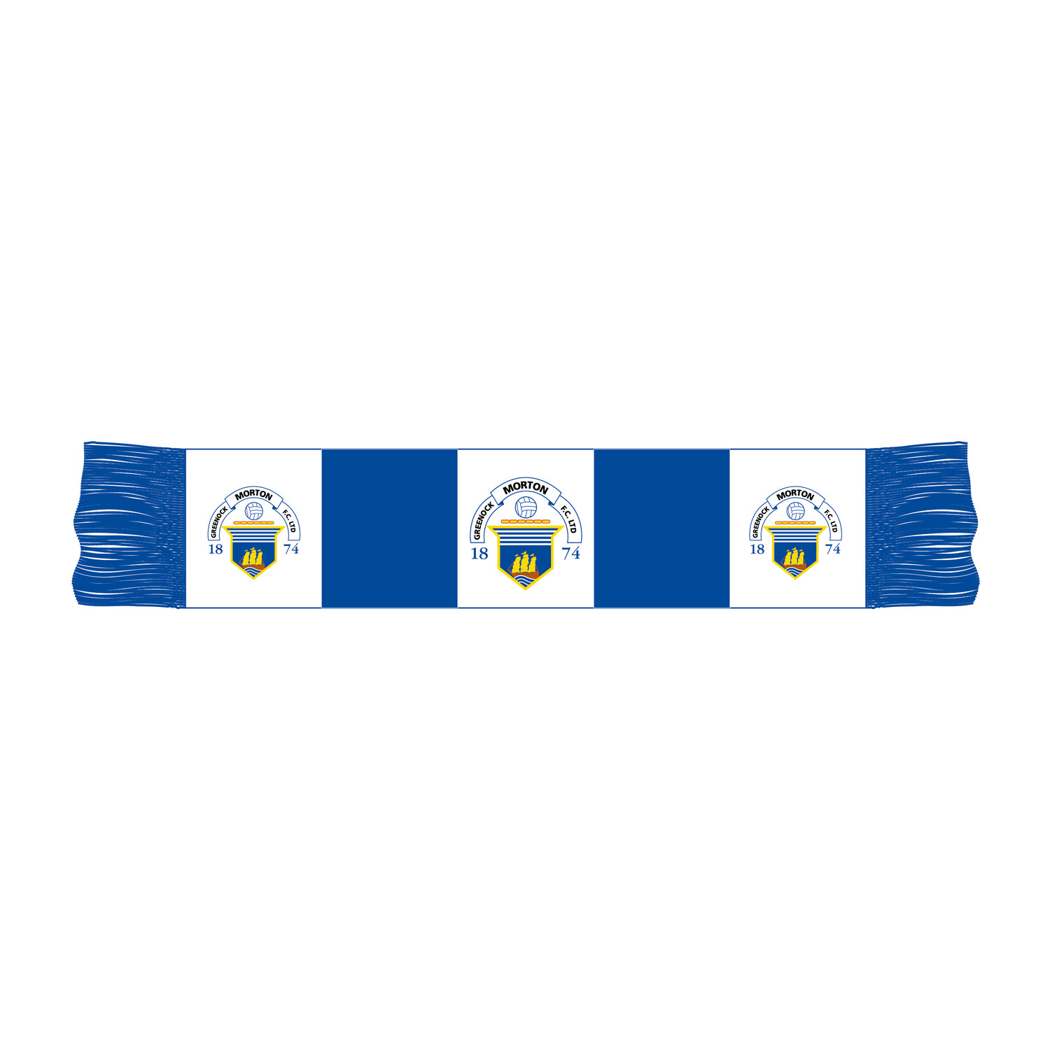 Morton Car Scarf (Club logo)