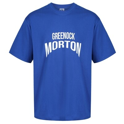 Morton 'Greenock Morton' T-Shirt (In Royal)