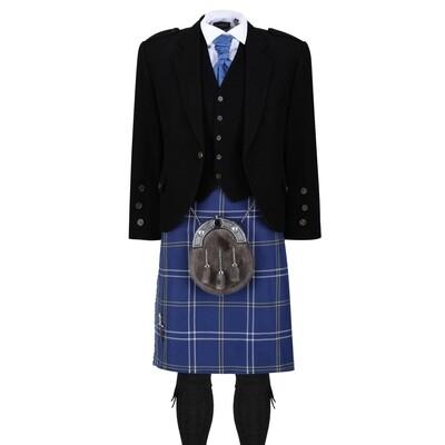 Morton Kilt with Black Jacket