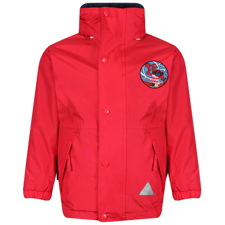 Strone Primary Heavy Rain Jacket (Fleece lined)