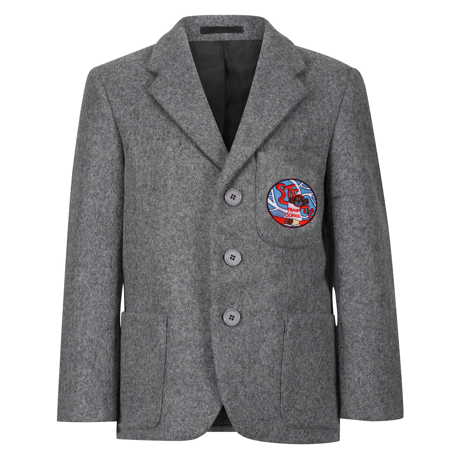 Strone Primary 'Wool' Blazer (Made-to-Order)