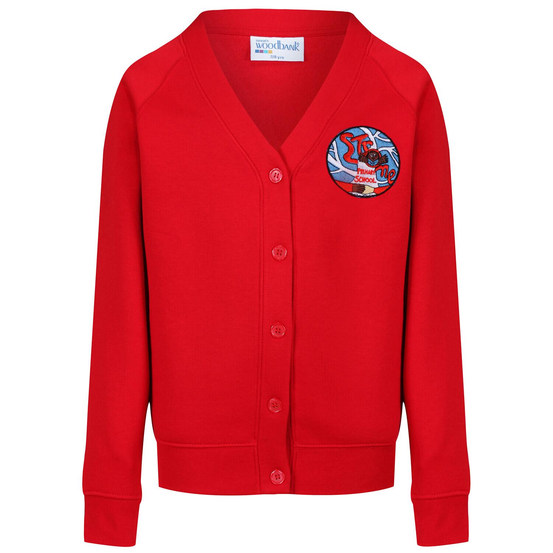 Strone Primary Sweatshirt Cardigan
