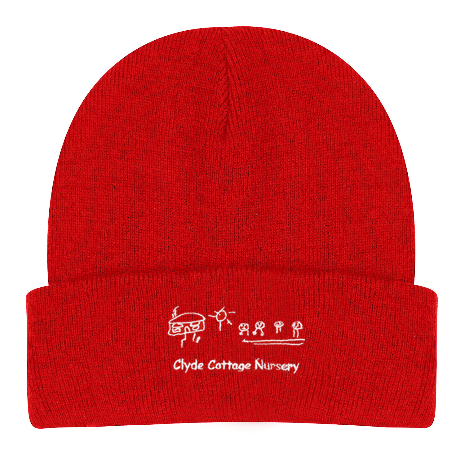 Clyde Cottage Nursery Wooly Hat (In Red or Navy)