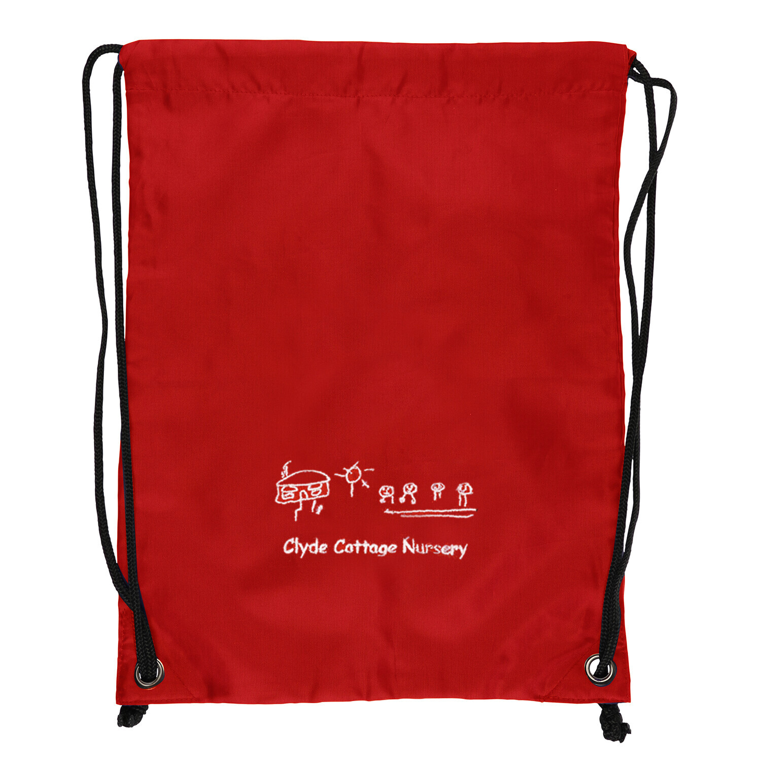 Clyde Cottage Nursery Gym Bag (In Red or Navy)