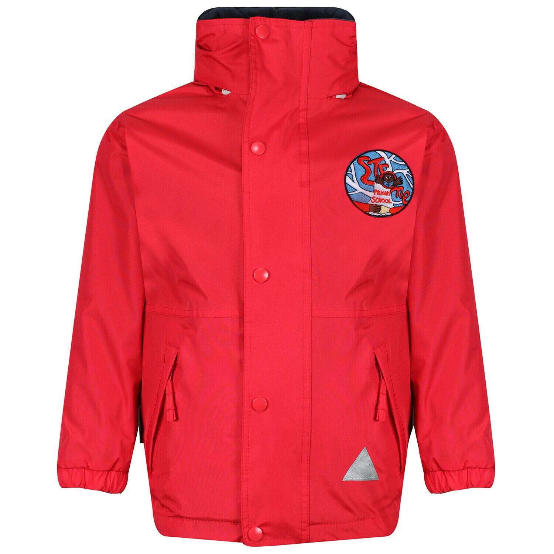 Strone Primary Staff Heavy Rain Jacket (Fleece lined)