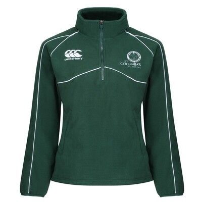 St Columba's School 'OLD' Canterbury School Fleece with White Piping (J4 to S6)