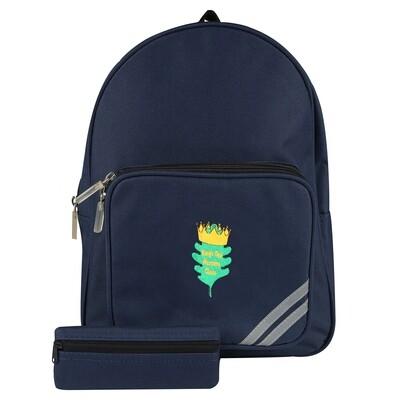 King's Oak Nursery Backpack (Navy)