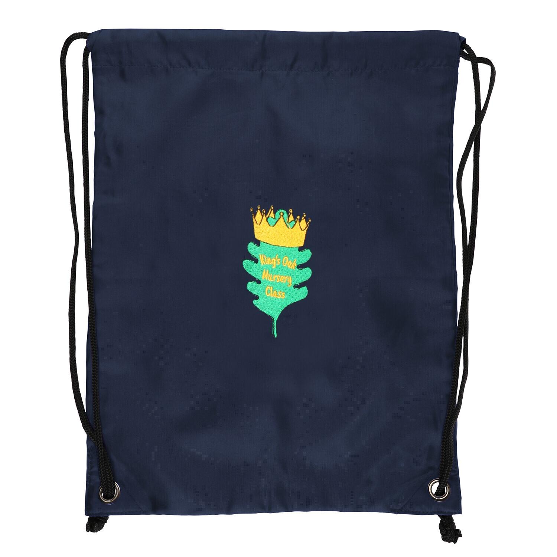 King's Oak Nursery Gym Bag (Navy)