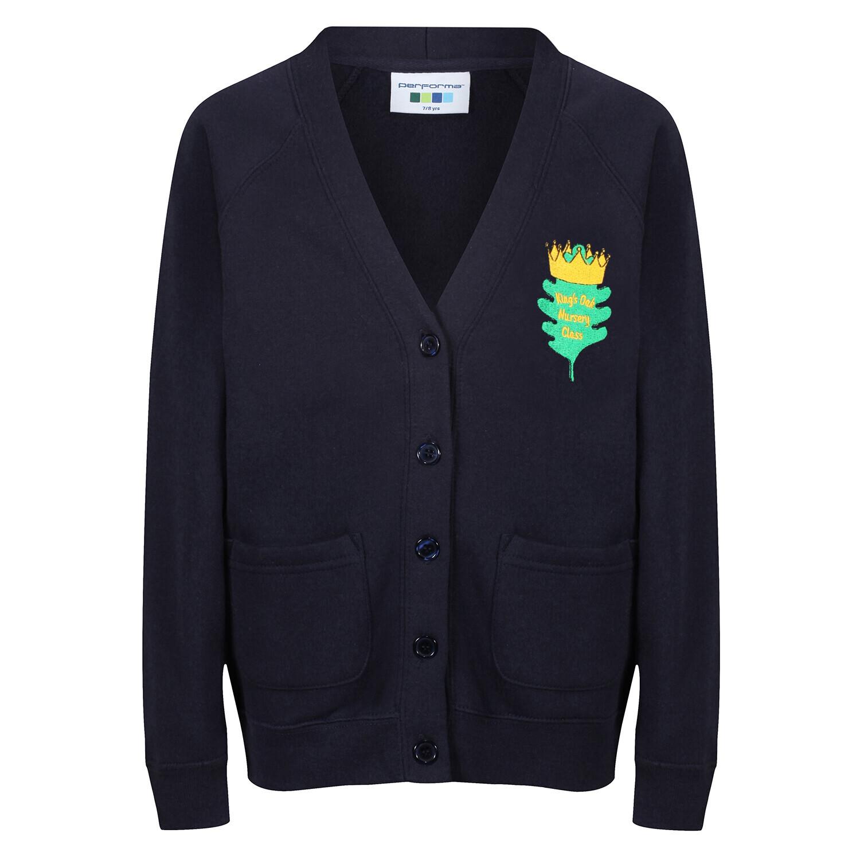King's Oak Nursery Sweatshirt Cardigan
