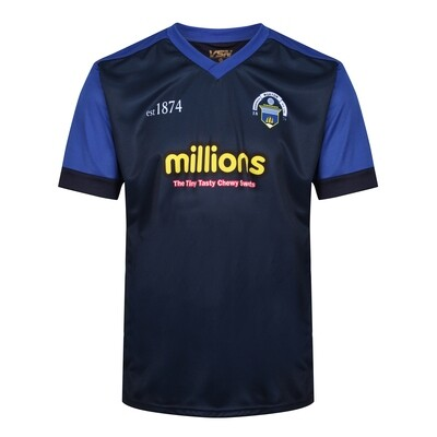 Morton Training T-Shirt (Style 4 - Navy with royal arm)