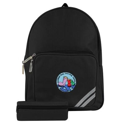 Larkfield ELC Nursery Backpack (In Black)