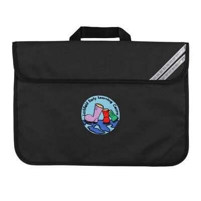 Larkfield ELC Nursery Book Bag (In Black)