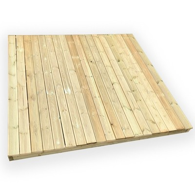 DIY Decking Kit (Multiple Sizes from 2.4x2.4m)