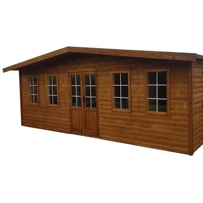 Insulated Chatsworth Summer House (16x12')
