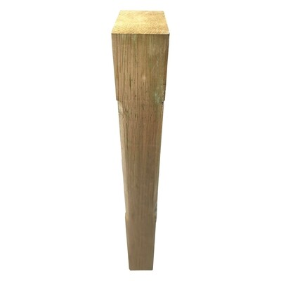 Stop-chamfered decking newel post (1.2m)