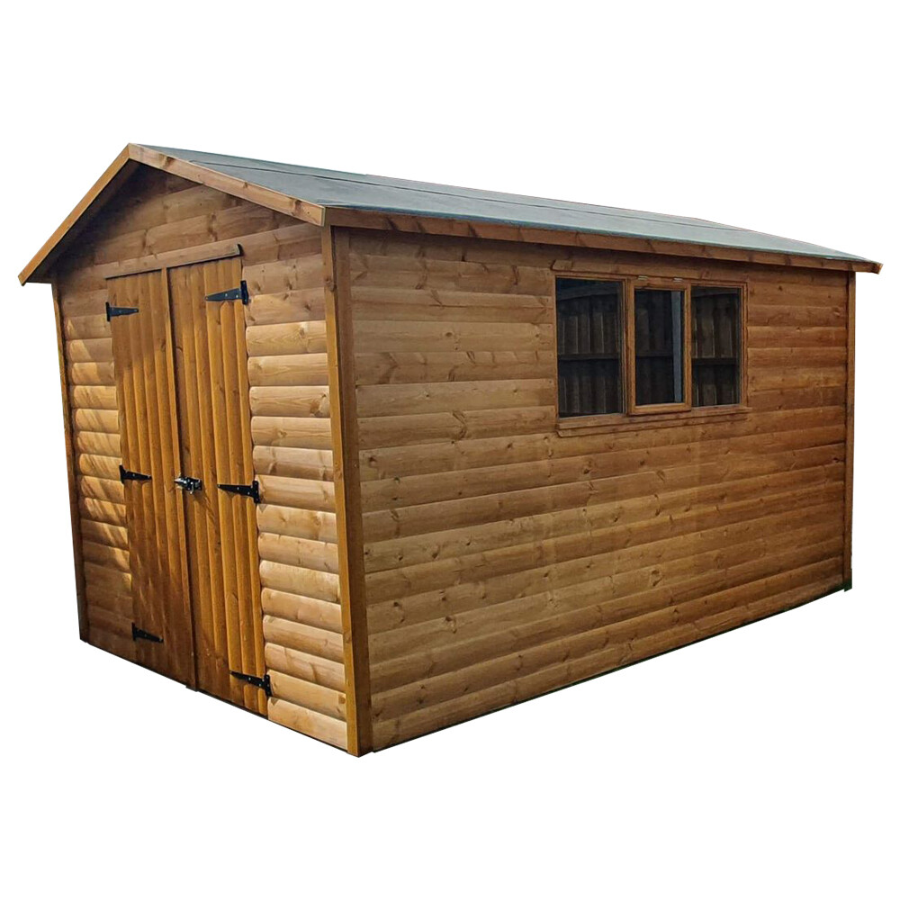 Heavy Duty Apex Shed 10x6'